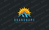 Alpine Sun Logo Template