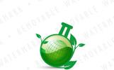 Eco Chemistry Logo Template