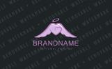 Angel Heart Logo Template