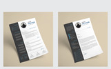Clean Corporate Resume Template