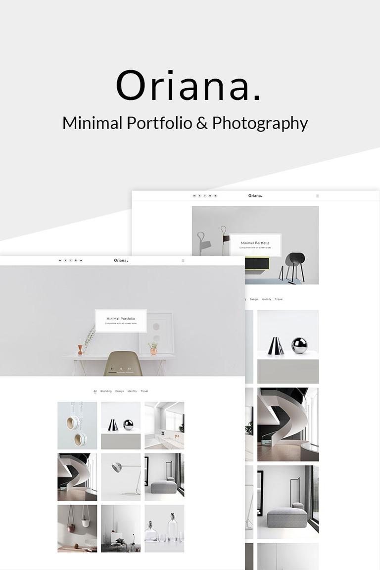 Oriana - Minimal Portfolio & Photography WordPress Theme