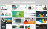 Responsive Business Plan Presentation | Animated PPTX, Infographic Design Powerpoint Şablonu