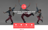 Dance Studio and Academy Unbounce Template