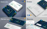 Business Mega Branding Bundle for E-Commerce or Online Shop Corporate Identity Template