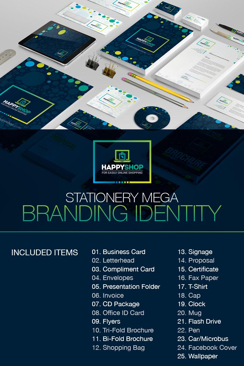 business mega branding bundle for e commerce or online shop