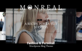 Monreal - Fashion Blog WordPress Theme
