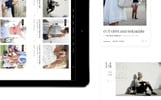 Responsive WordPress thema over Fashion blog