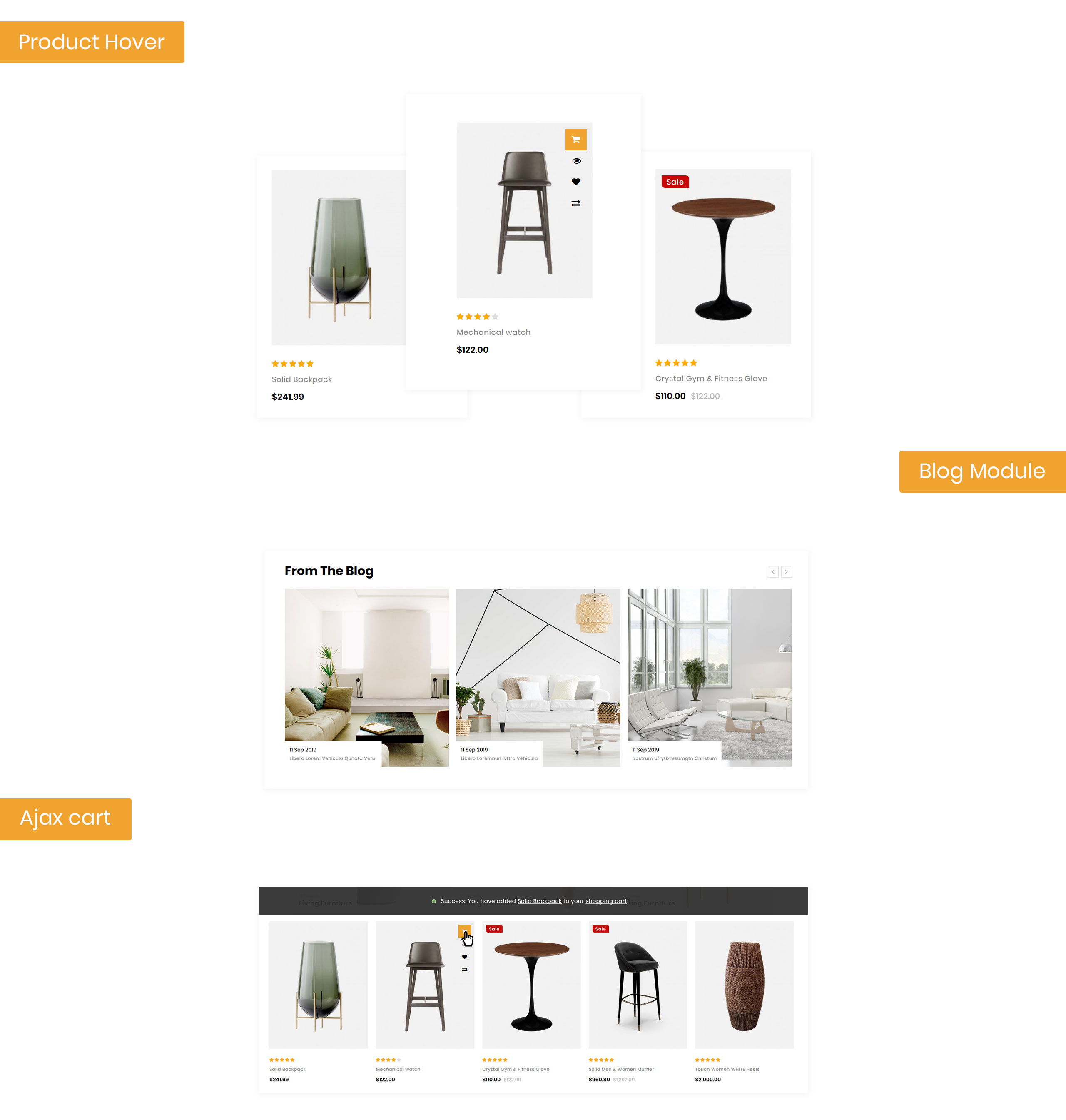 Furlen - Home Decor Store OpenCart Template