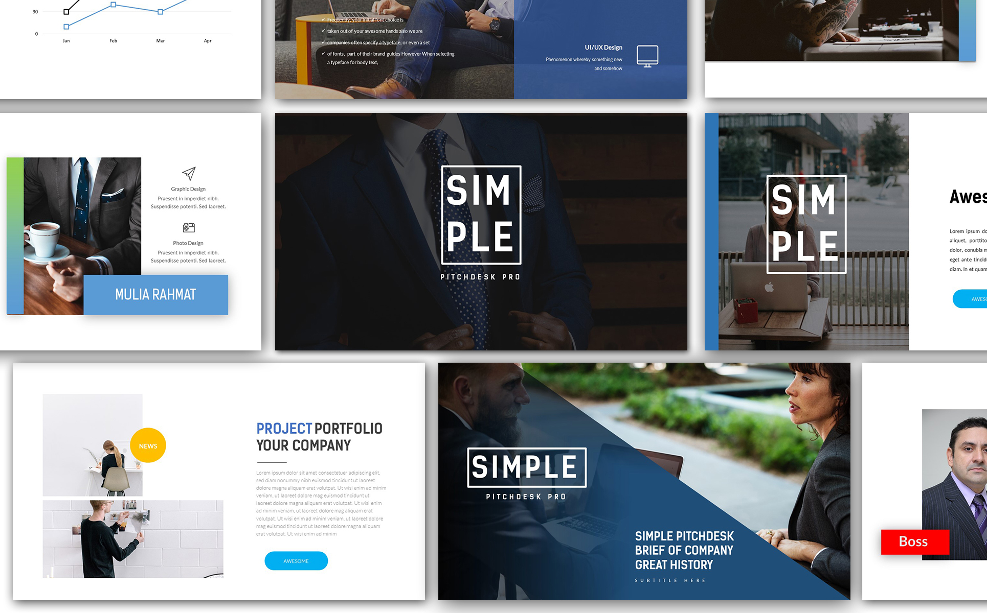 Simple pitchdesk pro powerpoint template 66230 simple pitchdesk pro powerpoint template big screenshot toneelgroepblik Image collections
