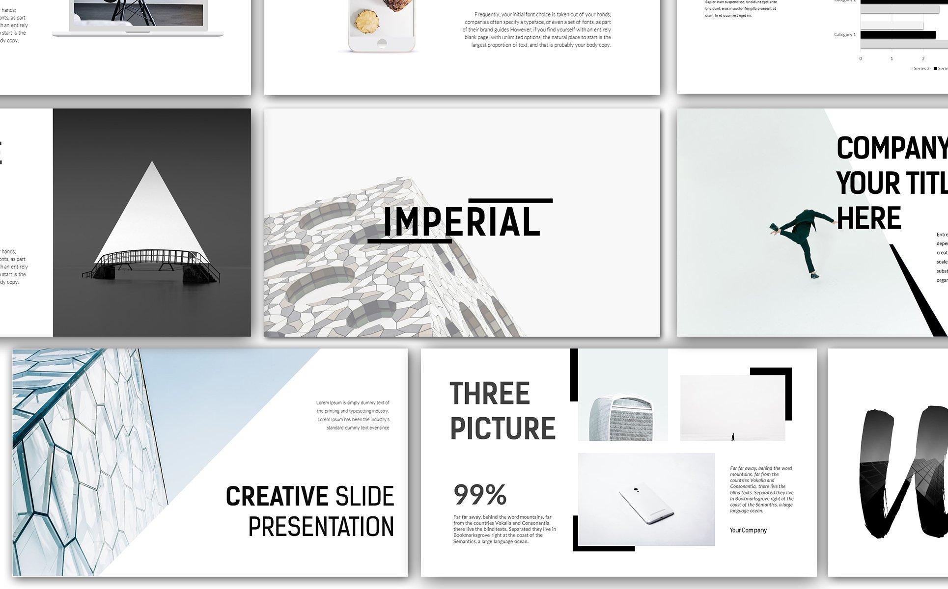 Keynote Vorlage #66187 für Design und Fotografie