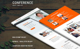 "Newsletter Vorlage namens ""Conference - Responsive"""