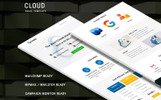 Cloud Newsletter Template