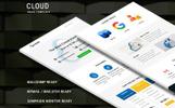 """Cloud"" Responsive Nieuwsbrief Template"