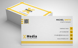 Xmedia | Corporate Business Card Corporate Identity Template