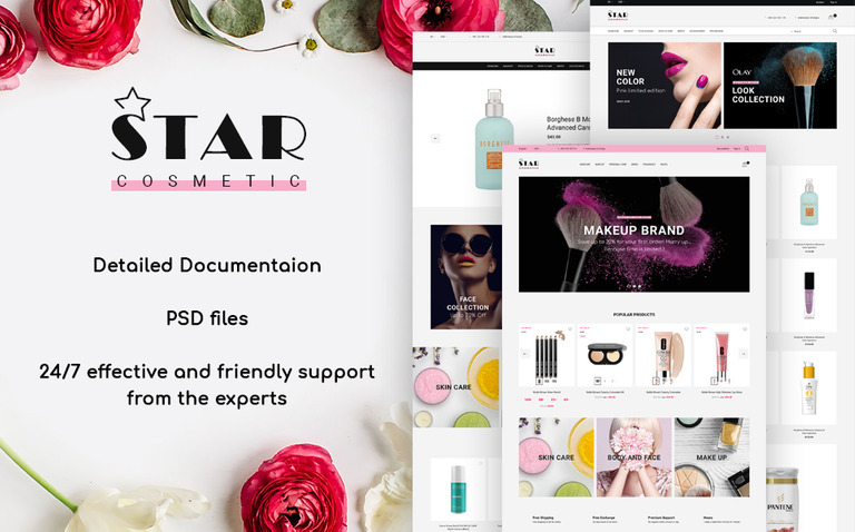 Star Cosmetic PrestaShop Theme