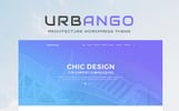 """Urbango - Architecture Firm"" Responsive WordPress thema"