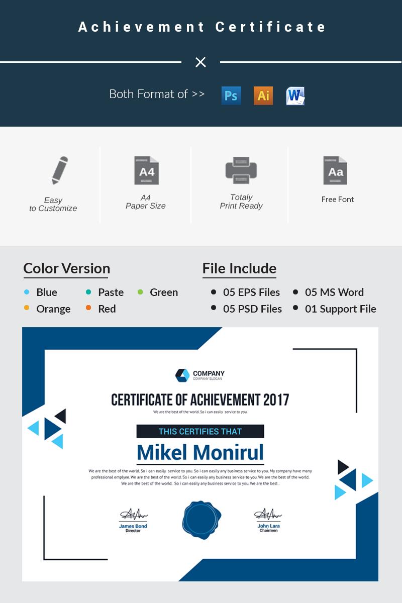 Achievement certificate template 66228 achievement certificate template xflitez Image collections