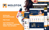 """Molotok 2"" Responsive PrestaShop Thema Groot  Screenshot"
