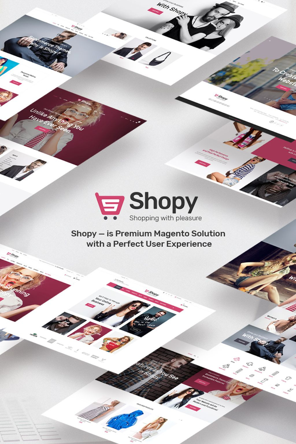 Shopy - fashion Magento Theme New Screenshots BIG