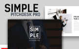 Simple Pitchdesk Pro Keynote Template