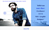 JonkAlluri Personal Freelancers And Photographers One Page Muse Template