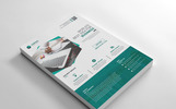 Graphic Business Flyer Corporate Identity Template