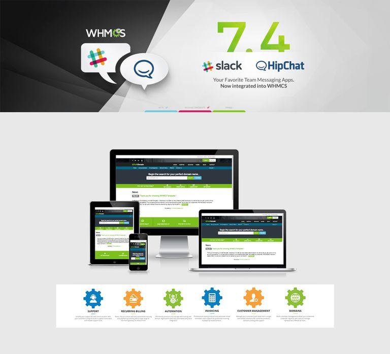 BulkDomain | Responsive HTML5 WHMCS for Hosting company