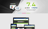 "HTML шаблон ""NYHost - Responsive Technology, Web Hosting and WHMCS"""