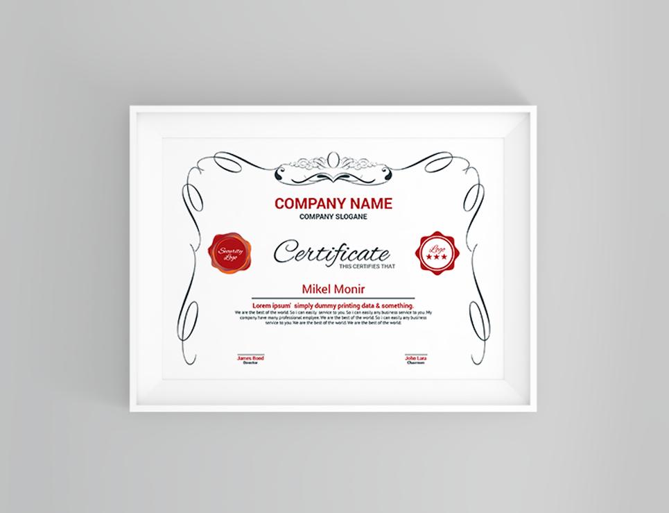 Diploma certificate template 66279 diploma certificate template big screenshot yadclub Choice Image