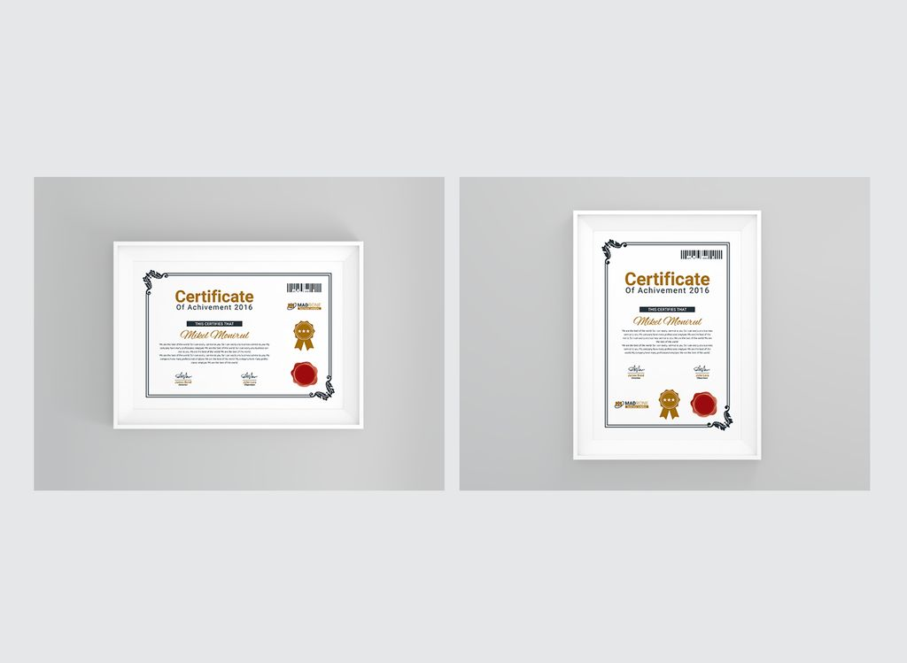 training center certificate template 66254