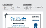 Training Center Certificate Template