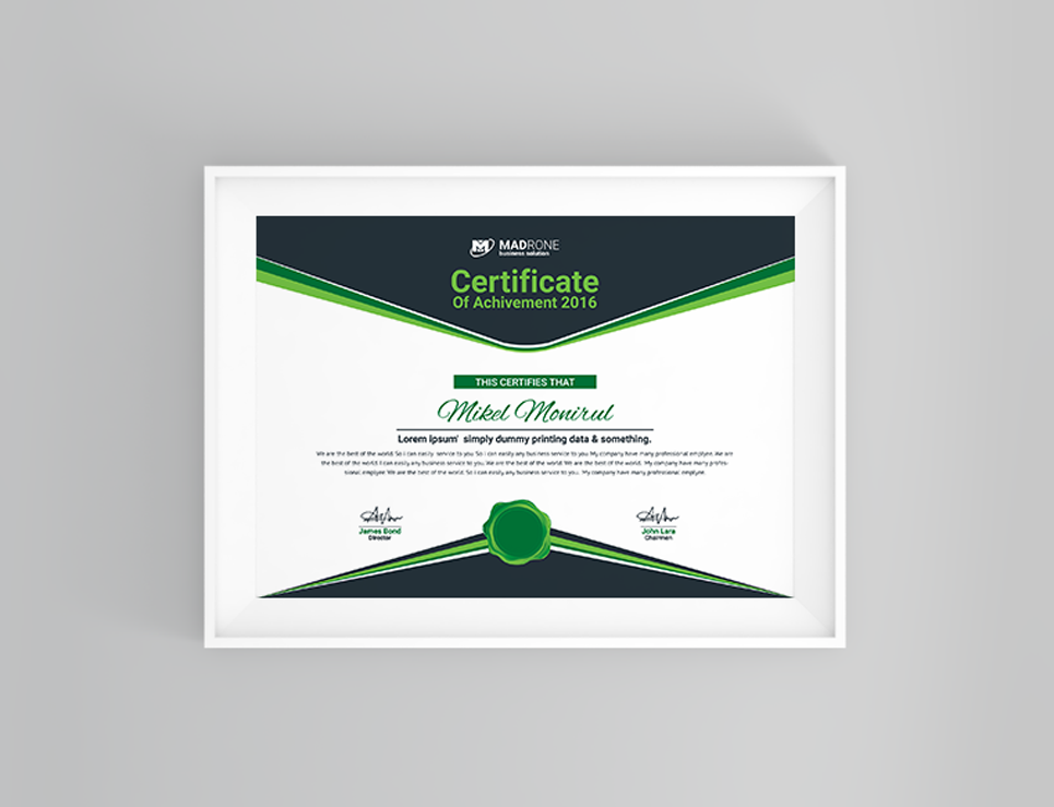 Computer training certificate template 66277 computer training certificate template big screenshot yelopaper Gallery