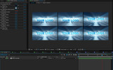 Volumetric Light Logo Reveal Video Asset