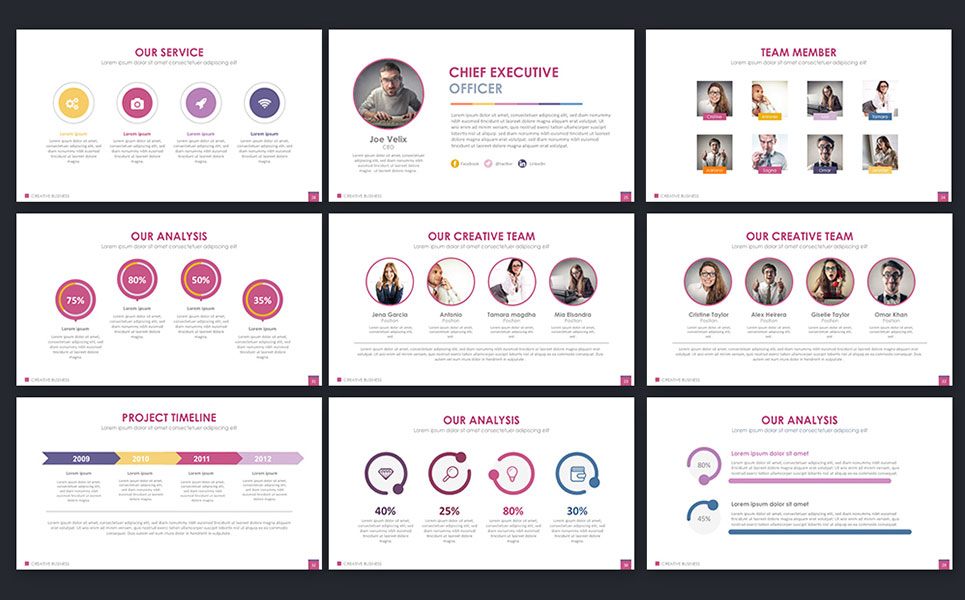 Creative business powerpoint template 66272 creative business powerpoint template big screenshot accmission Choice Image