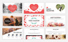 Szablon PowerPoint Sweet Valentine #67188 Duży zrzut ekranu