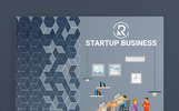 "Muse Template namens ""Startup Business - Responsive"""
