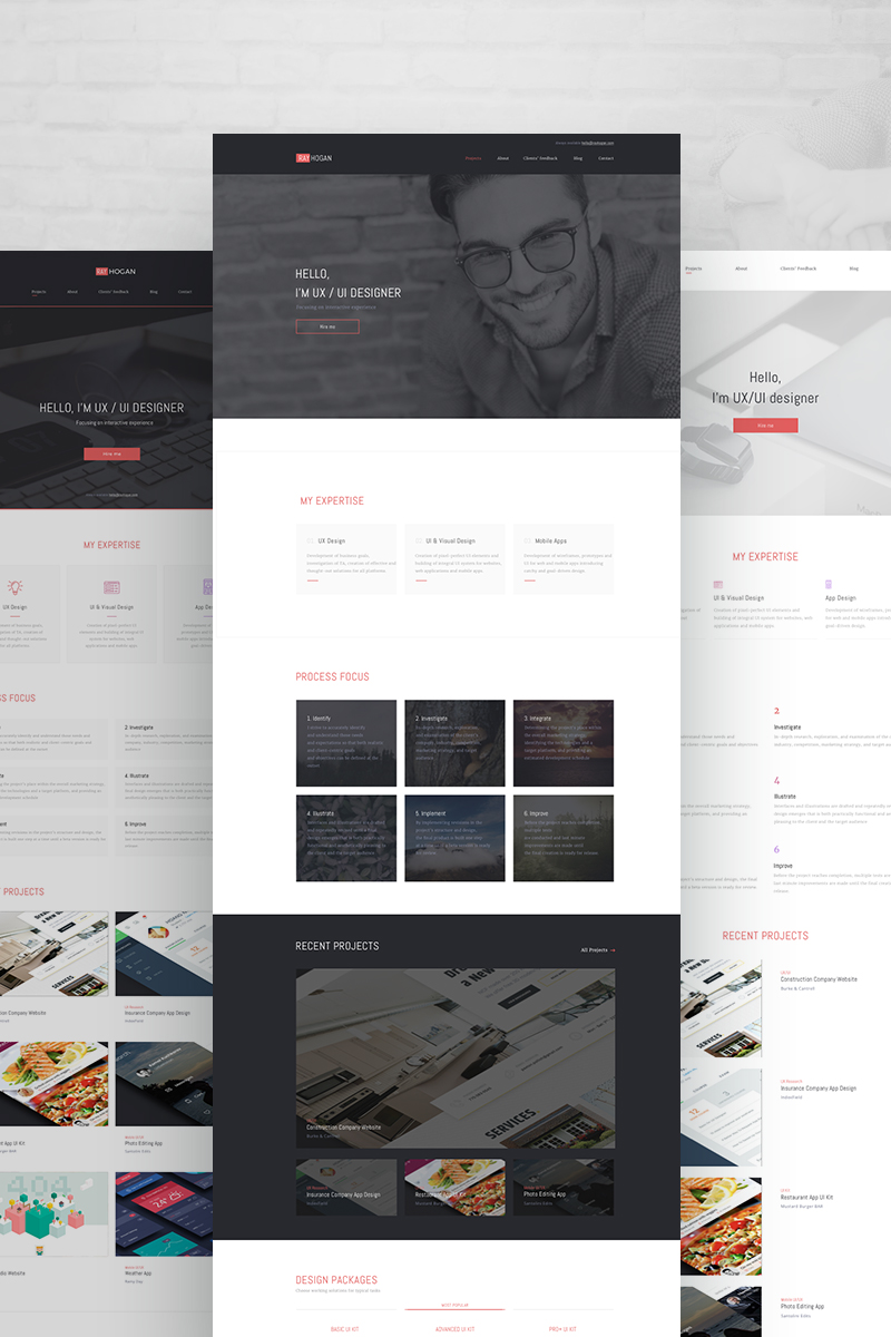 14 Weblium Ready-made Websites powered by TemplateMonster.com