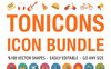 Tonicons - 2000 Vector Icons Bundle Big Screenshot