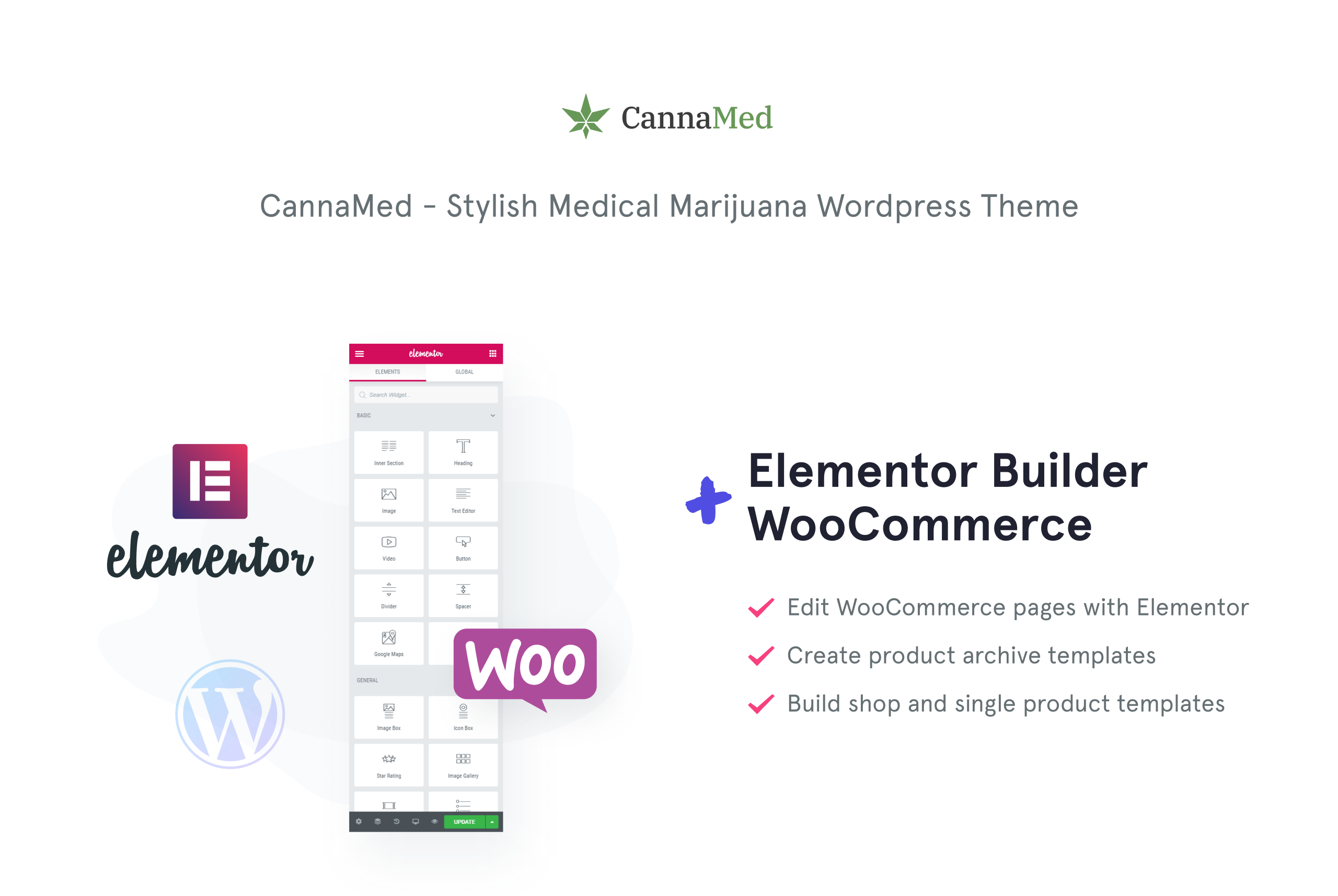 CannaMed - Stylish Medical Marijuana WooCommerce Theme