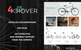 4Rover - Bike Store PrestaShop Theme