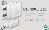 Diana D Rose - Beautiful Resume Template