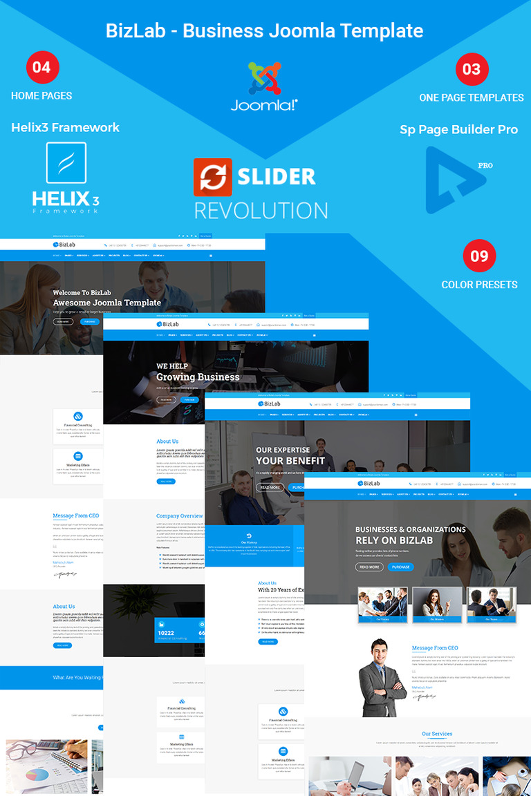 Bizlab business joomla template 66294 bizlab business joomla template new screenshots big cheaphphosting Choice Image
