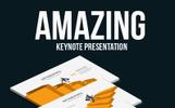 """Keynote Vorlage namens """"Amazing Keynote Presentation"""""""