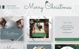 Merry Christmas Collection PSD Template