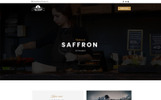 Saffron - Restaurant Unbounce Template