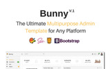 "Adminbereich Vorlage namens ""Bunny - The Ultimate Multipurpose"""