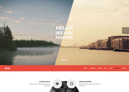 Master - Creative Agency Portfolio
