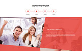 """Master - Creative Agency Portfolio"" Responsive Website template"