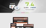 注册域名网站WordPress模板