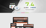 """lilyHost | Responsive WHMCS Hosting"" WordPress thema"